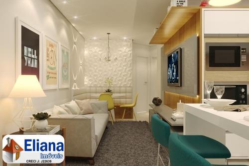 Apartamento Sem Condomínio 44 M² + 6 M² Quintal - Vl. Príncipe De Gales - Ma5528