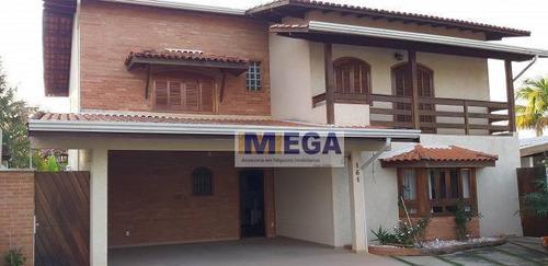 Casa Com 4 Dormitórios À Venda, 285 M² Por R$ 1.100.000,00 - Caminhos De San Conrado - Campinas/sp - Ca2029