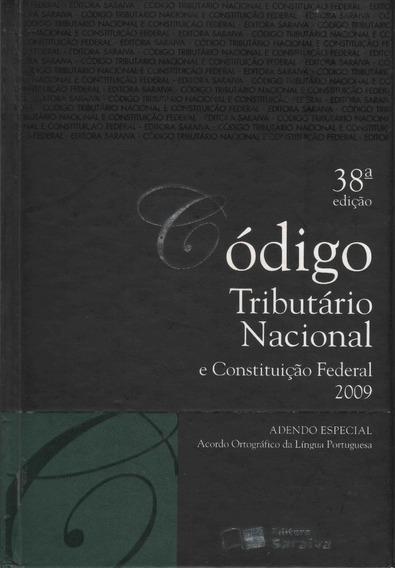Código Tributário Nacional E Constituição Federal