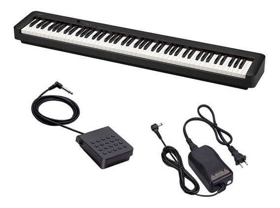 Piano Stage Digital Casio Cdp S100 Bk New Cdp-s100