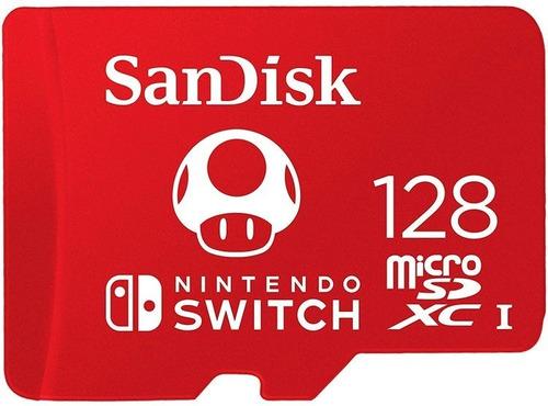 Memoria Microsd Original De Nintendo Switch  De 128 Gb