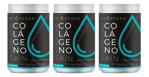 Imagen 1 de 7 de Giovegen Skin - Colágeno Hidrolizado  3 Meses De Tratamiento