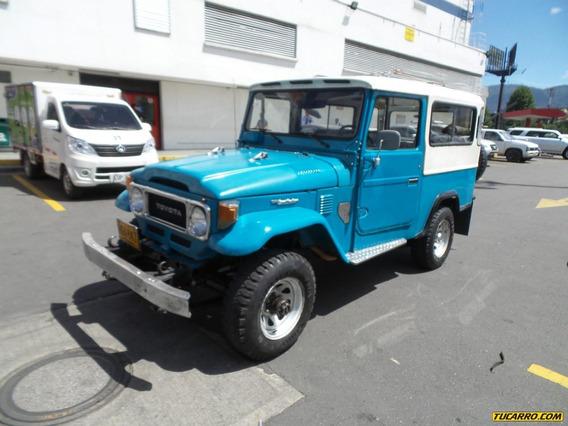 Toyota Fj 43 Mt 4200cc 4x4