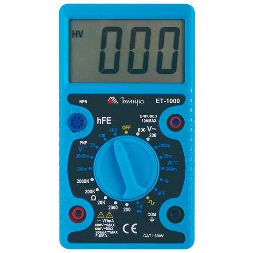 Multímetro Digital Minipa | Et-1000