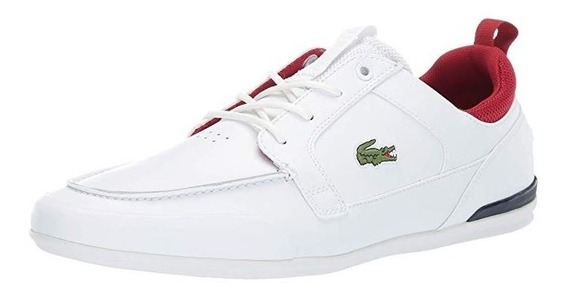 Tenis Lacoste Hombre Marina 119 Nauticos Casual Lifestyle Og