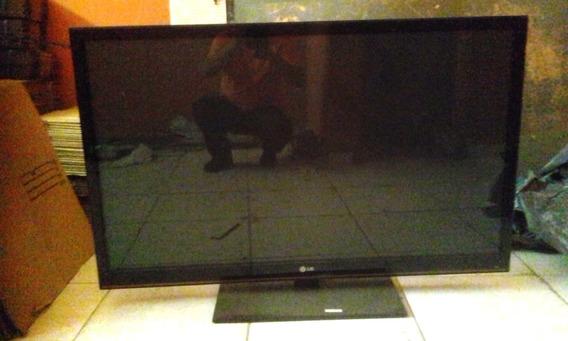 Tv LG 50pt250b 50 Polegadas Plasma Liga Com Som, Sem Imagem