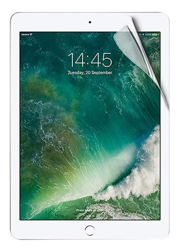 Imagen 1 de 5 de Lamina Hidrogel Apple iPad Todos Los Modelos