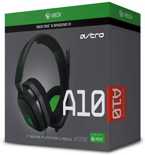 Audifonos Gamer A10 Para Xbox One/ps4/celular