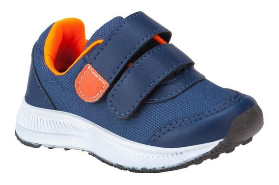 Tênis Jogging Infantil Minipasso Menino Azul Royal
