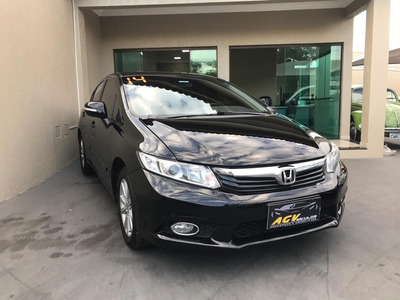 Honda Civic Lxr 2.0 Flex Automático 2014