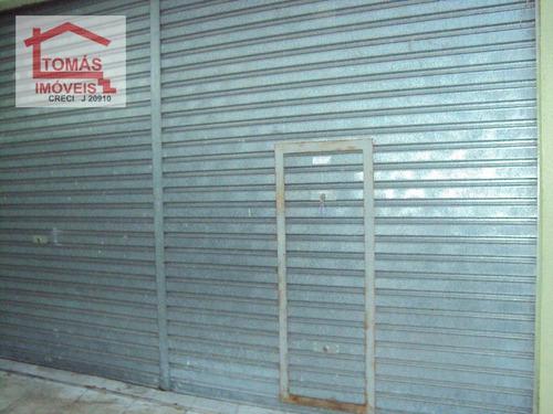 Imagem 1 de 10 de Salão Comercial Para Locação, Vila Mangalot, São Paulo - Sl0006. - Sl0006