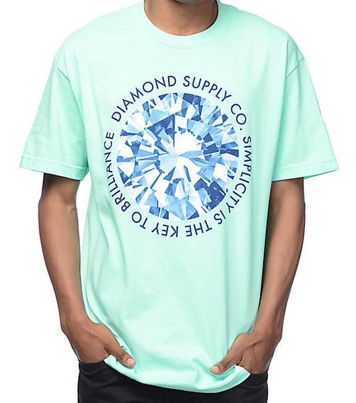 Playera Camiseta Moda Unisex Diamantes La Simplicidad Es La Clave Para Ser Brillante