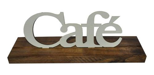 Base Palavra Café Pinus Luxo