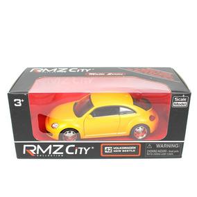Coleccion Auto Volkswagen New Beetle Rmz City 1:32 Rojo
