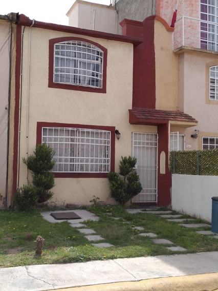 Renta Casa Mediana En Las Américas Ecatepec