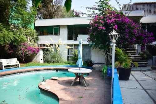 Casa En Venta, Av De Las Fuentes / Jardines Del Pedregal
