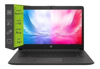 Notebook Hp 245 G7 Ryzen 3 4gb 1tb. 14¨ Windows 10
