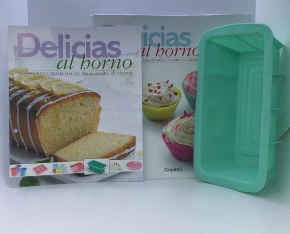 Delicias Al Horno La Nacion - Nº 02 Molde Cuadrado Siliconas