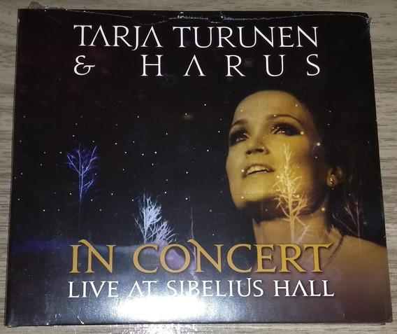 Cd Tarja Turunen & Harus In Concert Live Sibelius Hall Novo