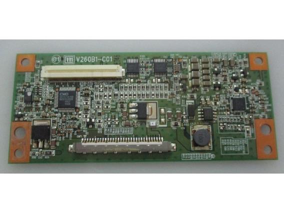T-con Tv Aoc L26w831 Modelo V260b1-c01