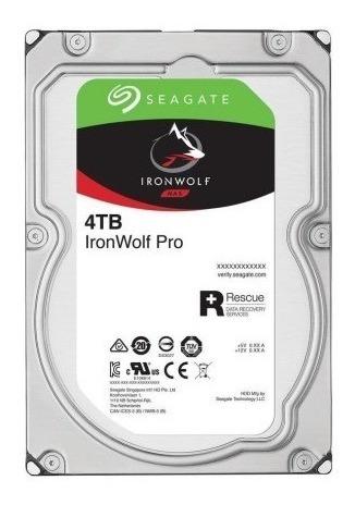 Hd Seagate Ironwolf - 4tb Sata3 Nas Desktop - Novo