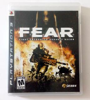 Fear 1 Usado Ps3 Español