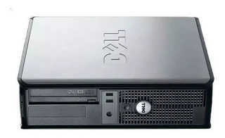 Cpu Dell Optplex 2gb Hd 80 + Teclado E Mouse