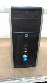 Cpu Hp Compaq 6200 Pro Microtower Ddr3 - Hd 500 Gb