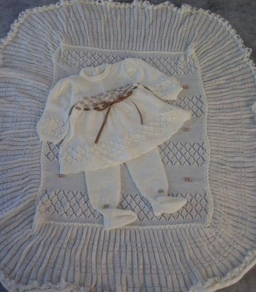 Maternidade Body Manta Vestido Calça Gorro Luva Ref. 102