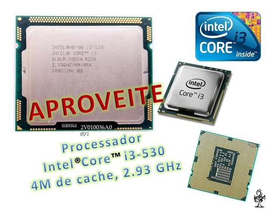 Processador Intel® Core I3-530 - 2.93 Ghz / 4m / Promoção