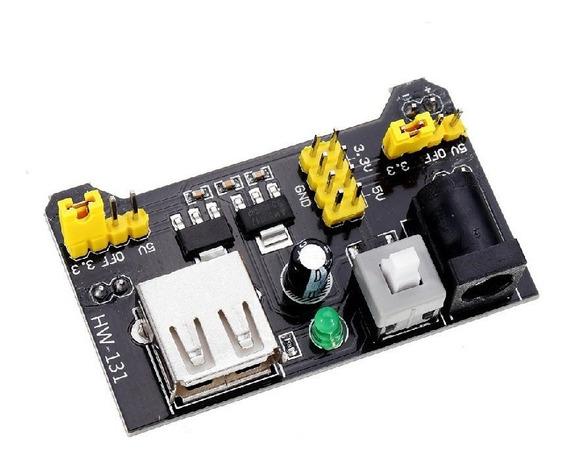 Regulador Tensão P/ Protoboard Dc 5v 3,3v P/ Arduino