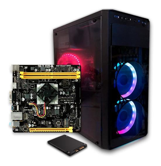 Computadora Pc Cpu Gamer Amd A10 8gb 240 Ssd Graficos Radeon