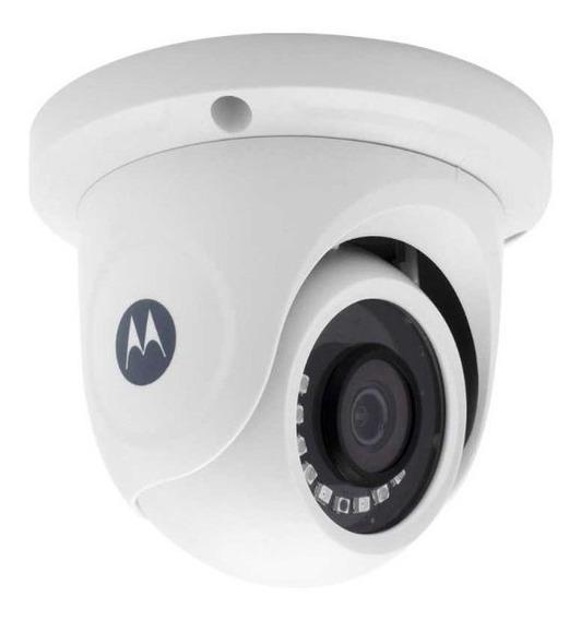 Câmera Cftv Motorola Dome Plastica 2mp 1080p Monitoramento