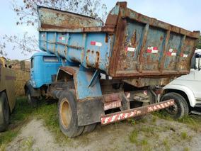 Caminhão Basculante Mercedes 1113 Ano 1978 - 2 Anos Parado