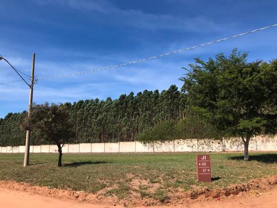 Terreno Plano De Esquina - Condomínio Ninho Verde Ii