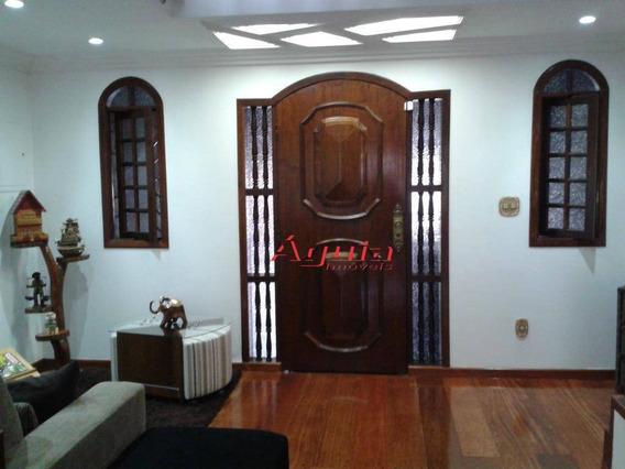 Sobrado Com 4 Dormitórios À Venda, 242 M² Por R$ 699.000 - Paulicéia - São Bernardo Do Campo/sp - So0976