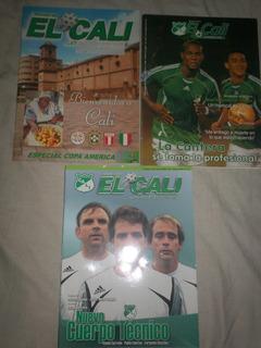 Revistas Deportivo Cali # 81, 159 Y 166 (10 Mil C/u)