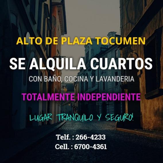 Se Alquilan Cuartos En Plaza Tocumen