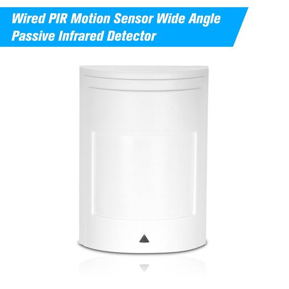 Wired Pir Sensor De Movimento De Largura Do ?ngulo