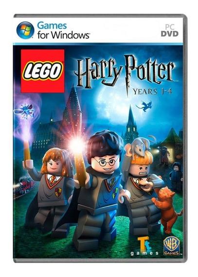 Jogo Lego Harry Potter Mídia Física Pc Original Lacrado
