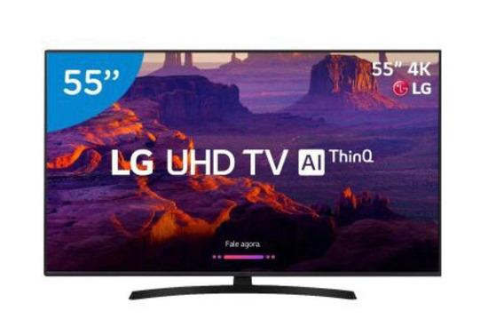 Smart Tv Led Lg55 Ultra Hd 4k Com Suporte De Parede