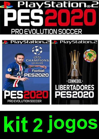 Pes 2020 + Sulamericano ,jogos Ps2,lançamento