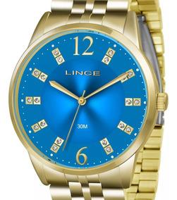 Relógio Lince Feminino Dourado Lrgj044l D2kx C/ Nota Fiscal