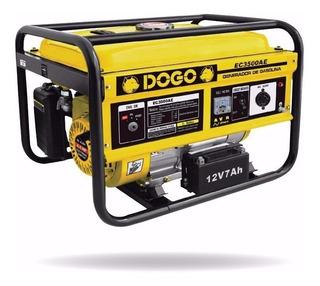 Grupo Electrógeno Generador Eléctrico Dogo 3500ae 4t 15l