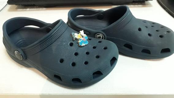 Crocs Infantil Azul Marinho Original - Usado