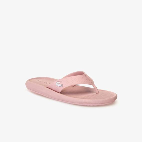 Ojotas Lacoste Mujer Croco Sandal 119 1 Rosa 208 Negro 312