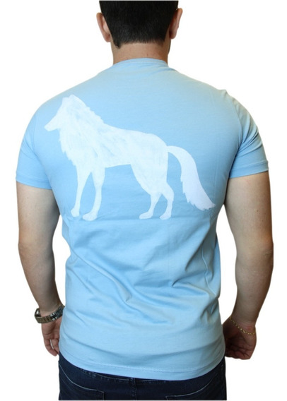 Camiseta Acostamento Masculina Lobo Nas Costas 100% Original