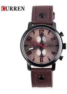 Reloj Hombre De Cuero Curren 8192 Nuevos Fiables Garantía