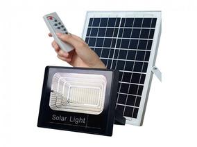 Refletor Solar Led 30w L&d Completo Com Placa - 2700 Lms