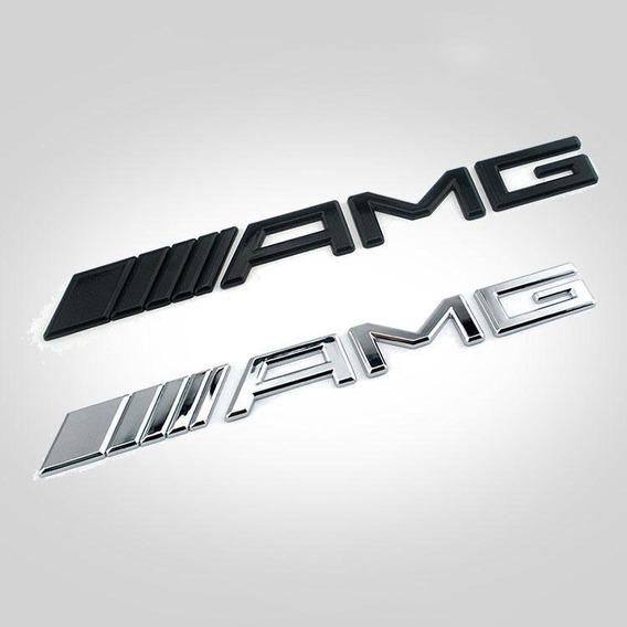 Emblema Amg Acessórios Mercedes Benz Classe A C E S Slk Sl